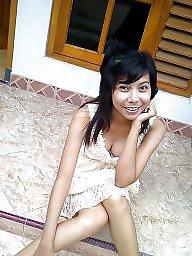 Flat, Girl, Asian babe