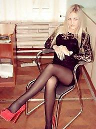 Nylons, Teen nylon, Nylon teen, Russian teen, Teen stockings, Amateur nylon