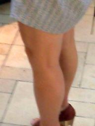Leggings, Candid, Legs, Candids