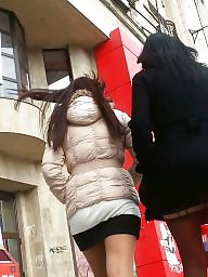 Skirt, Mini skirt, Romanian, Hidden, Spy, Spy cam