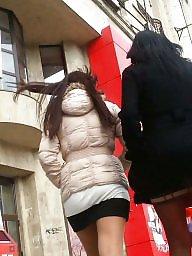 Skirt, Spy, Romanian, Cam, Skirts, Spy cam