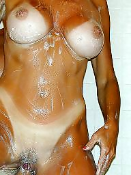 Creampie, Bath, Busty, Creampies, Busty milf, Creampied