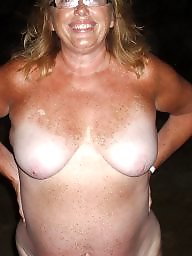 Mature beach, Outside, Mature wife, Beach mature