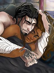 Cartoons, Art, Interracial cartoon, Cartoon interracial, Erotic, Interracial cartoons
