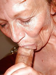Old mature, Old woman, Suck, Woman, Old milf, Mature sucking