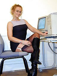 Office, Nylons, Vintage nylon, Officer, Office ladys
