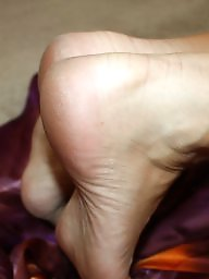 Stocking, Stocking feet, Wifes, Milf feet, Milf stockings