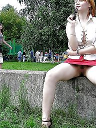 Public, Flashing, Upskirt flashing