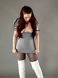 Boots, Thighs, Grey, Boot