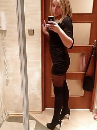 Boots, Leather, Milfs, Milf leather, Boot