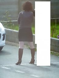 Voyeur, Sexy stockings, Amateur stocking
