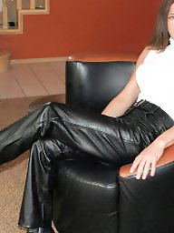 Leather, Latex, Pvc, My mom, Mature leather, Mature pvc