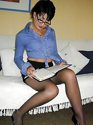 Upskirt, Glasses, Ladies