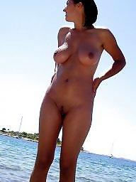 Big tits, Public boobs, Public nudity, Beach tits