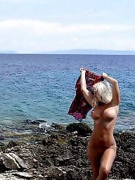 Mature beach, Blonde mature, Beach mature, Public mature, Mature blonde, Mature public