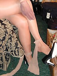 Pantyhose, Mature pantyhose, Older, Hairy mature, Mature nude, Stocking hairy