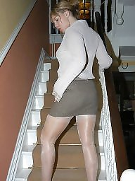 Nylon, Upskirt stockings, Nylon stockings