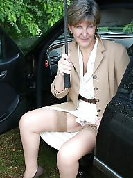 Sara, Mature stockings, Shower, Uk mature, Showers, Sara mature