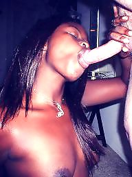 Black, Cock, Ebony blowjob, Black cock, Sucking, Cock sucking