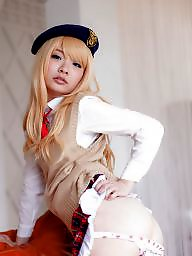 Cosplay, Asian teen, Teen cartoon, Asian cartoon