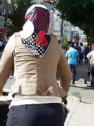 Turban, Turkish, Turbans, Hidden cam, Turkish upskirt