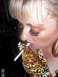 Smoking, Milf blowjob, Smoke