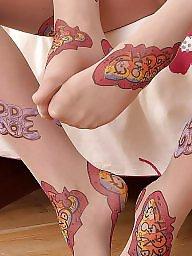 Pantyhose, Nylon, Pantyhose upskirt, Upskirt stockings
