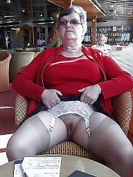 Granny, Grannies, Granny stockings, Stockings pussy, Granny pussy