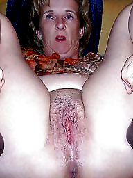 Granny, Spreading, Granny pussy, Wet, Mature spreading, Mature spread