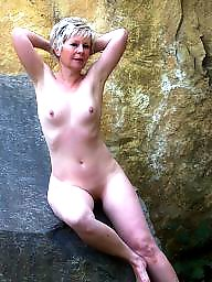 Nudists, Nudist, Mature nudist, Mature public
