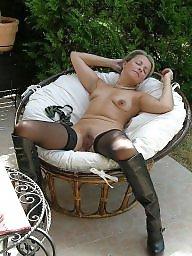 Mature stockings, Milf stockings