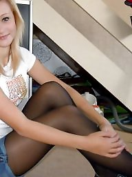 Girl, Pantyhose upskirt, Amateur pantyhose, Amateur stockings