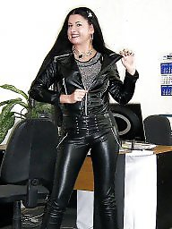Latex, Leather, Pvc, Mature leather, Mature pvc, Mature latex
