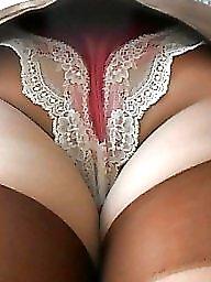 Upskirt, Panty, Vintage amateur
