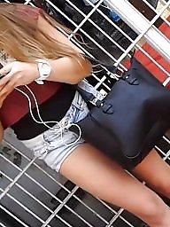 Candid, Hot teen, Teen leggings, Hidden cams, Cam