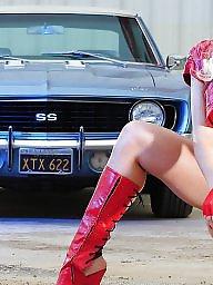 Car, Funny, T girls, Cars