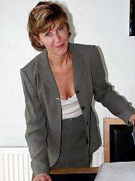 Office, Stockings, Uk mature, Mature uk