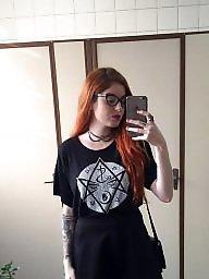 Ginger, Redhead tits, Redhead teens