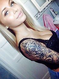 Tattoo, Big ass, Big asses