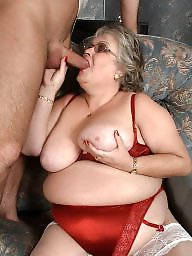 Granny blowjob, Granny stockings, Granny stocking