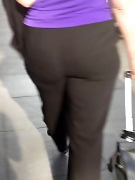 Dress, Pants, Dressed, Bbw dressed, Booty, Pant