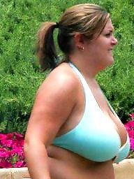 Bikini, Curvy, Thick, Bbw beach, Bbw bikini