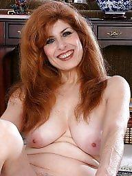 Redhead mature, Mature redhead, Mature asses