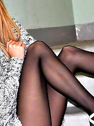 Upskirt stockings, Heels, Tights, Tight, High, Stockings heels