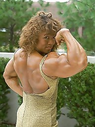 Retro, Muscle, Female, Muscles, Muscled
