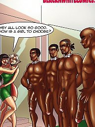 Cartoon, Interracial cartoon, Interracial cartoons, Bbc, Bbc cartoon, Cartoon interracial
