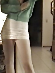 Skirt, Tights, White