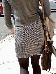 Mature stockings, Stockings, Voyeur
