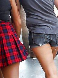 Ass, Teen ass, Shorts, Short, Jeans