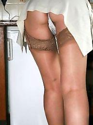Mature shower, Shower, Mature stocking, Uk mature